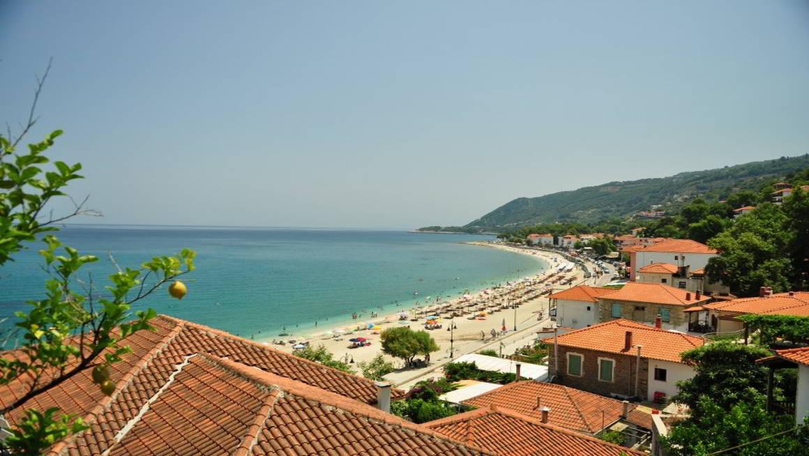 Η παραλία του Αγίου Ιωάννη στο Πήλιο