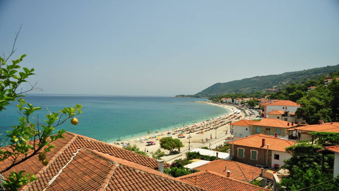 Agios Ioannis beach in Pelion