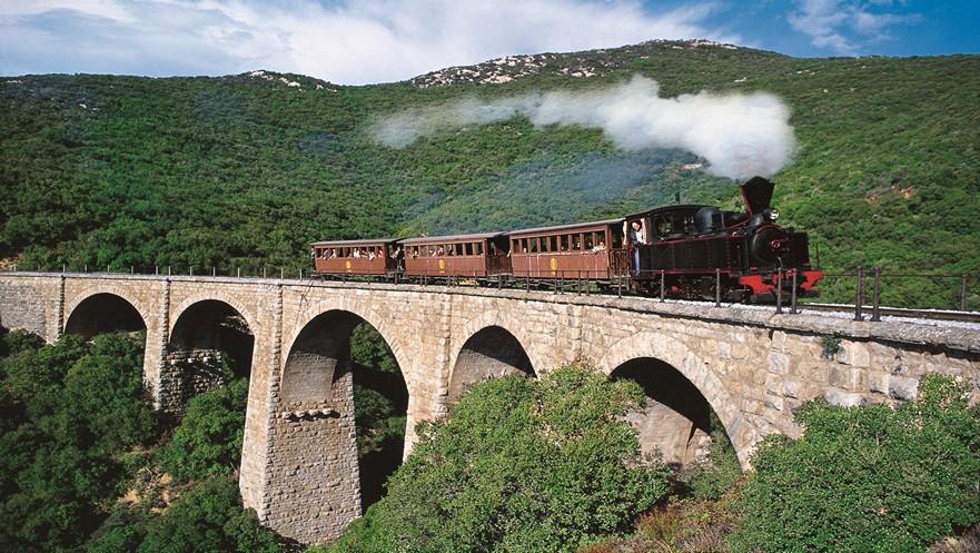 τρενάκι του Πηλίου - little train of Pelion