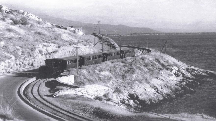 Το ιστορικό τρενάκι του Πηλίου ο Μουτζούρης - Historic little train of Pelion - Moutzouris