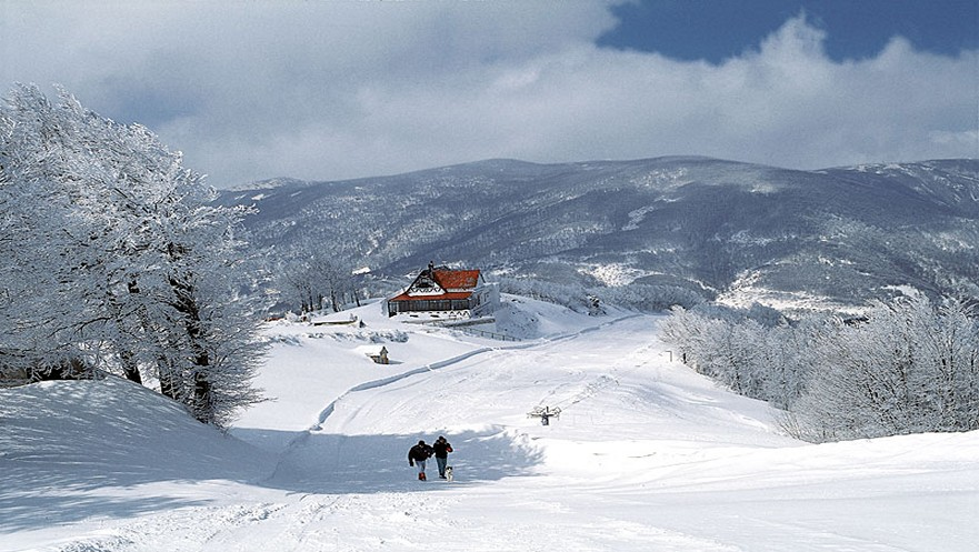 Chania Skicenter in Pelion Greece