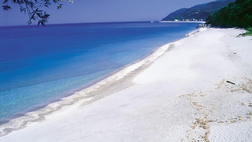 Chorefto beach Pelion Greece