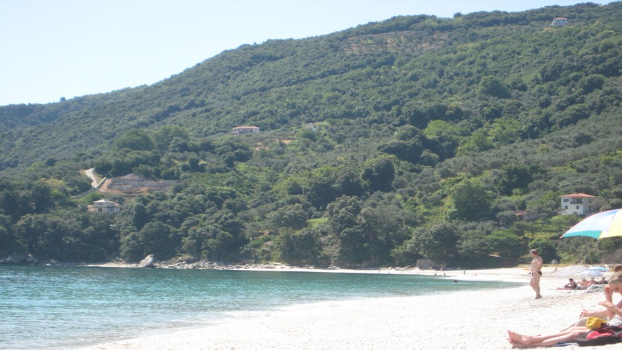 Beach of Papa Nero in Agios Ioannis Pelion Greece