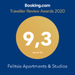 Felitsia Apartments Pelion Booking award