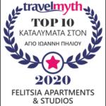 Βραβείο Travelmyth Felitsia Apartments Agios Ioannis hotels Pelion Award